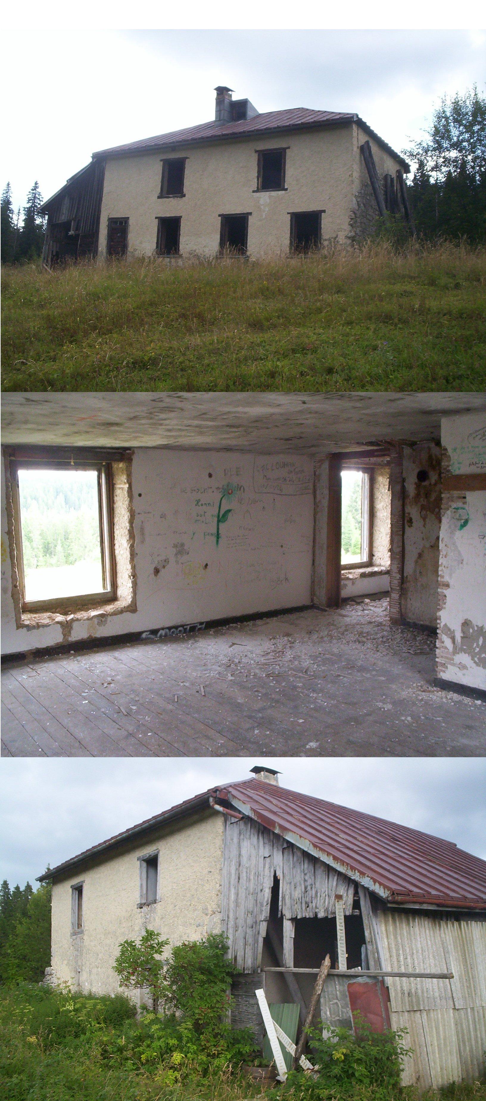 la caserne 1215 m cabane non gard e. Black Bedroom Furniture Sets. Home Design Ideas