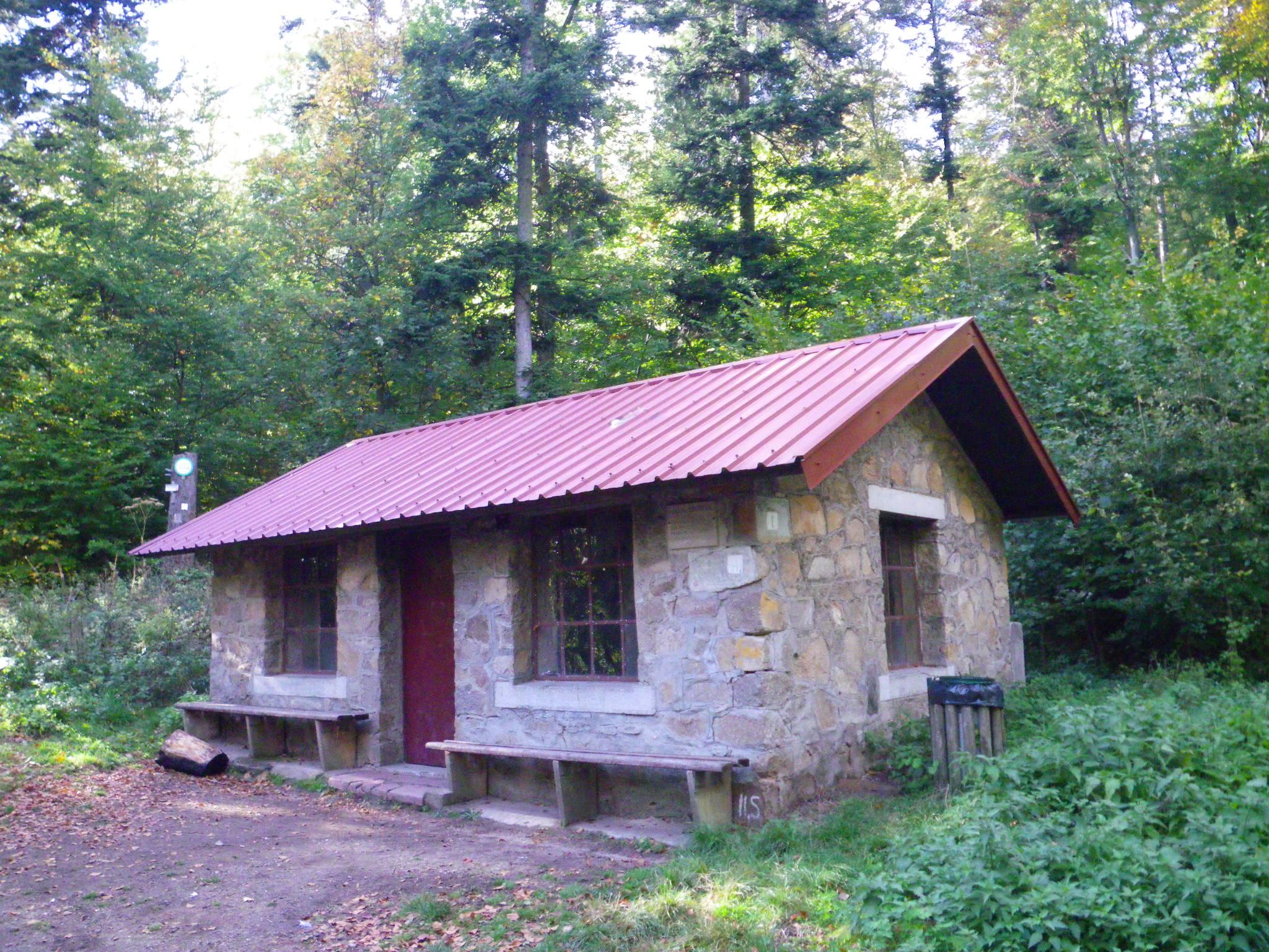Refuge du Stauffenmatt 722 m (cabane non gardée)