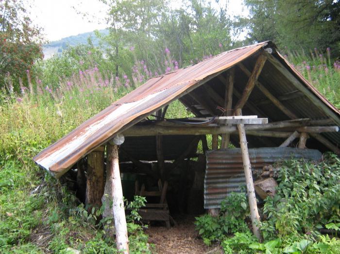 bancs en bois intérieur